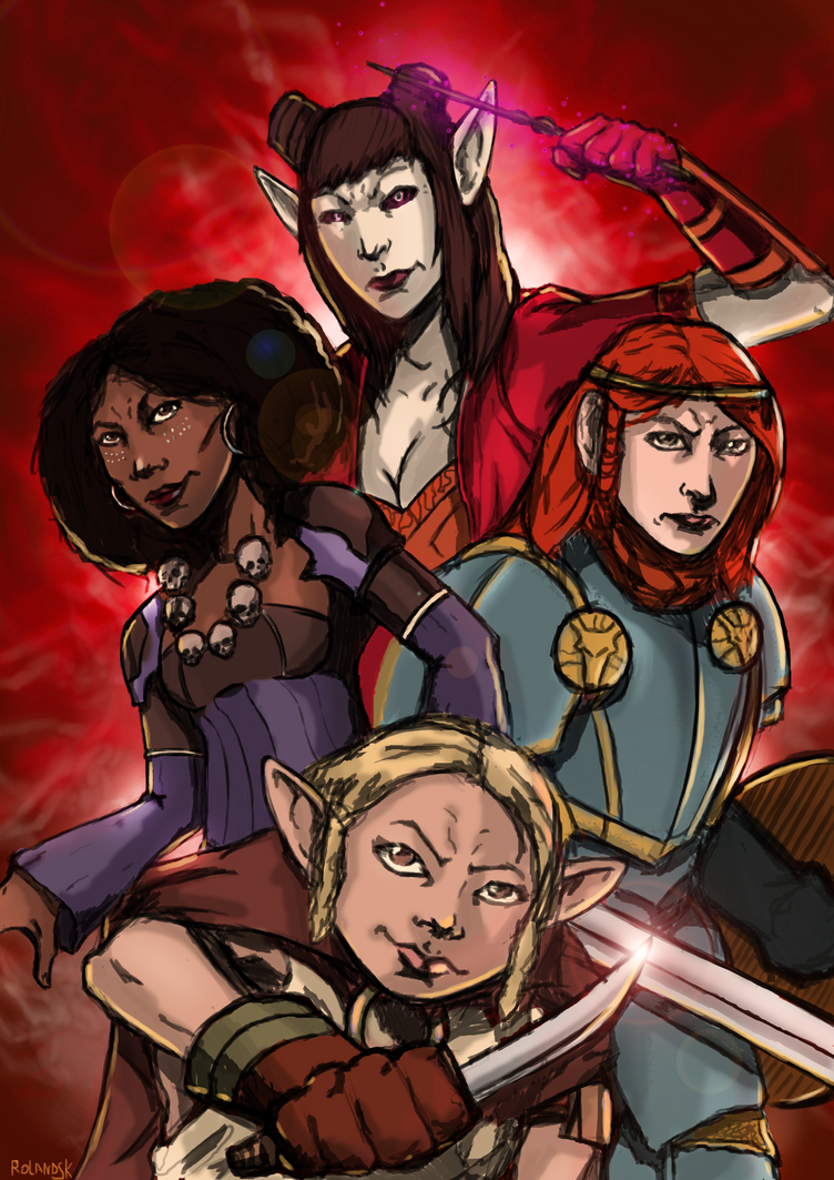 Rat queens Red Final by Marvelzukas