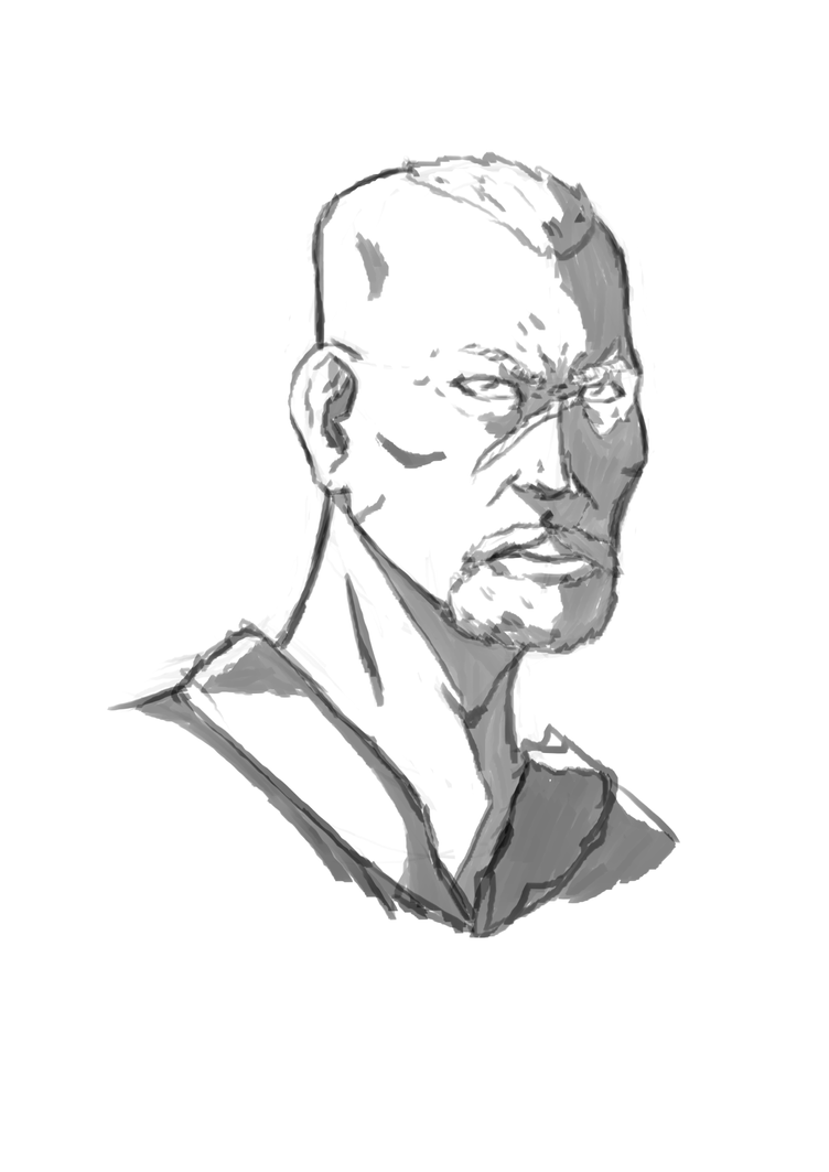 Sketch Warhawk 10 min warmup by Marvelzukas