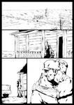 War on reality p1 inks by Marvelzukas