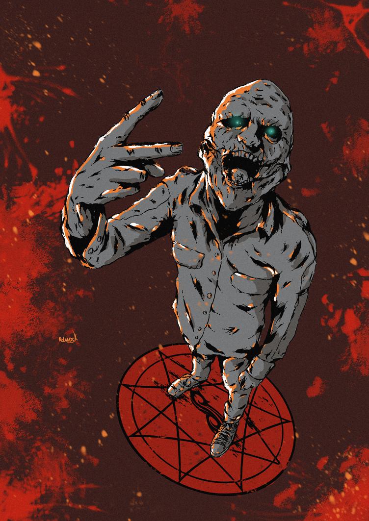 Slipknot poster colorv2 by Marvelzukas