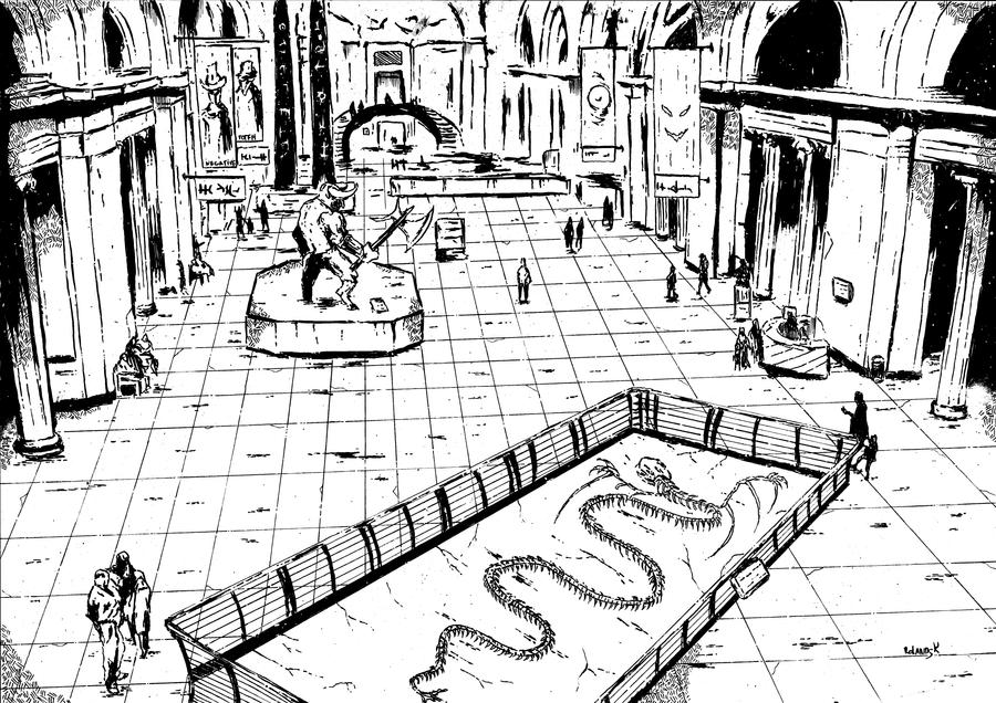 Csdd Museum inks by Marvelzukas