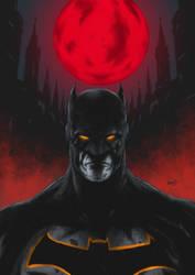Batman For Paint Final  by Marvelzukas