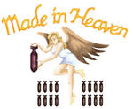 RE2 - Made In Heaven logo