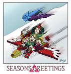 Legend of Zelda - Seasons Greetings from Skyloft