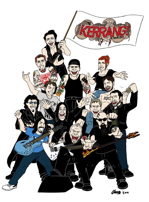 Kerrang! 10 Reasons Why 2013 Is Gonna Rock by ryuuza-art