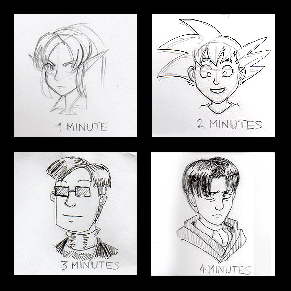 Commissions - Pay-Per-Minute Sketches by ryuuza-art