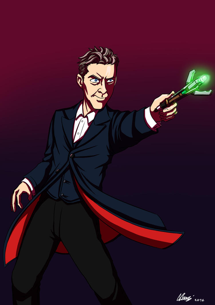 Commission - 12th Doctor by ryuuza-art