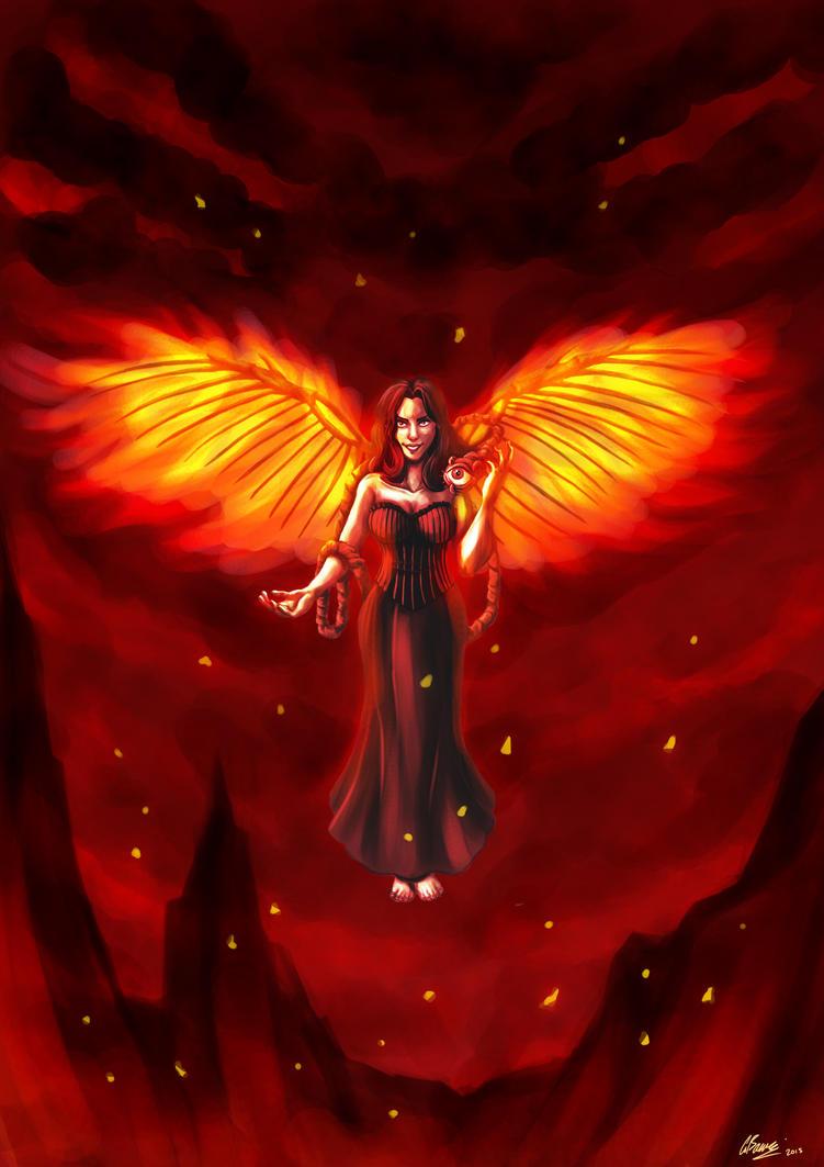 Wings of Fury by ryuuza-art