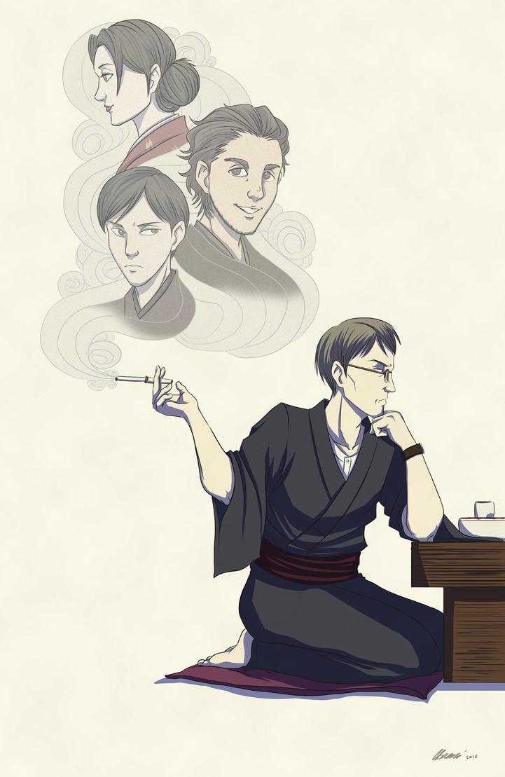 Shouwa Genroku Rakugo Shinjuu by ryuuza-art