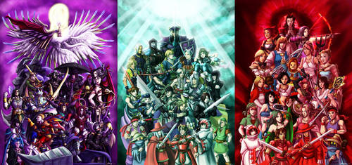 Final Fantasy: Villains, Heroes and Heroines