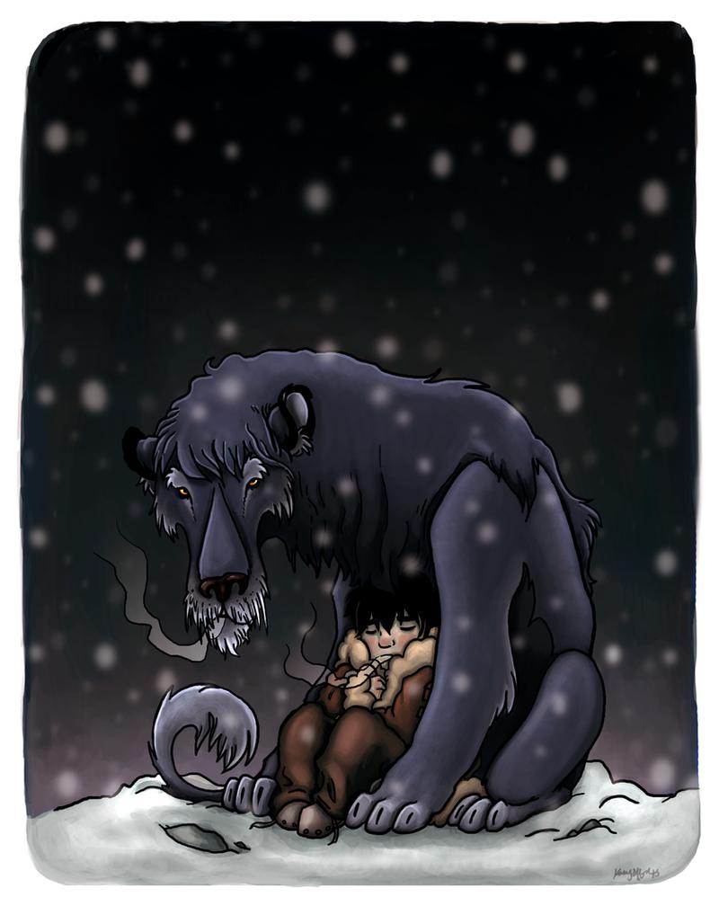 Winter Lions by killskerry