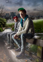 Ghoust Town - Photoshop cs6