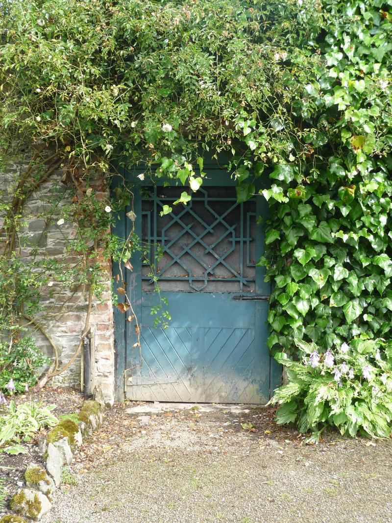 Secret Garden Door by mindCollision-stock on DeviantArt