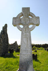 Celtic cross closeup by mindCollision-stock