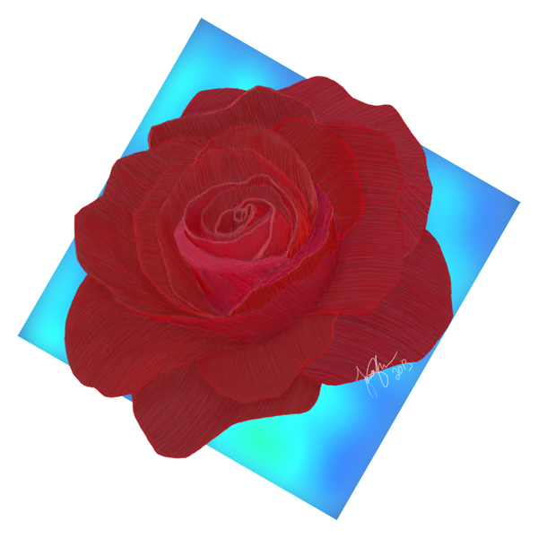 Ethereal Valentine's Rose by Force1295