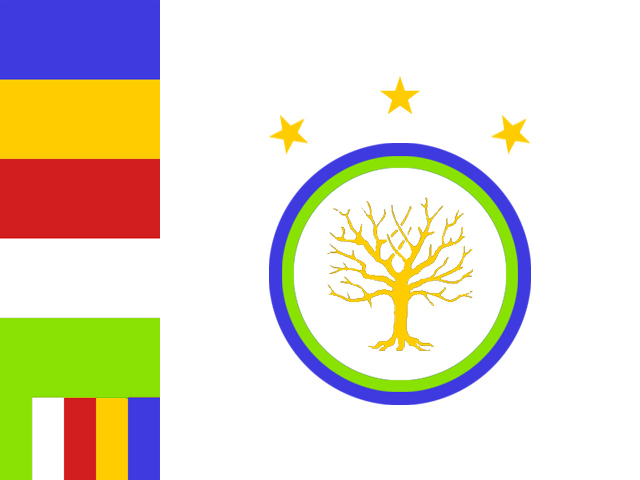 flag of the fellowship of the schiratian buddhists by aldohyeah