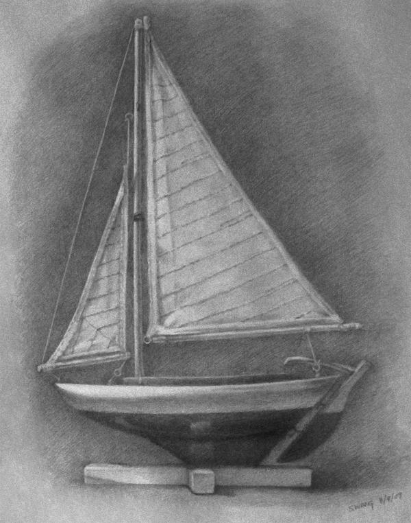 Sailboat Sketch by whael on DeviantArt