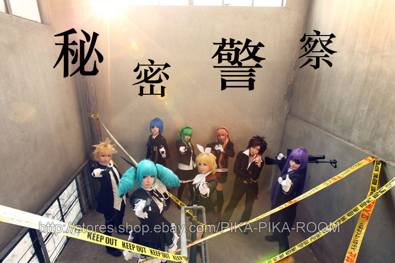 VOCALOID Secret Police by PIKAPIKAROOM