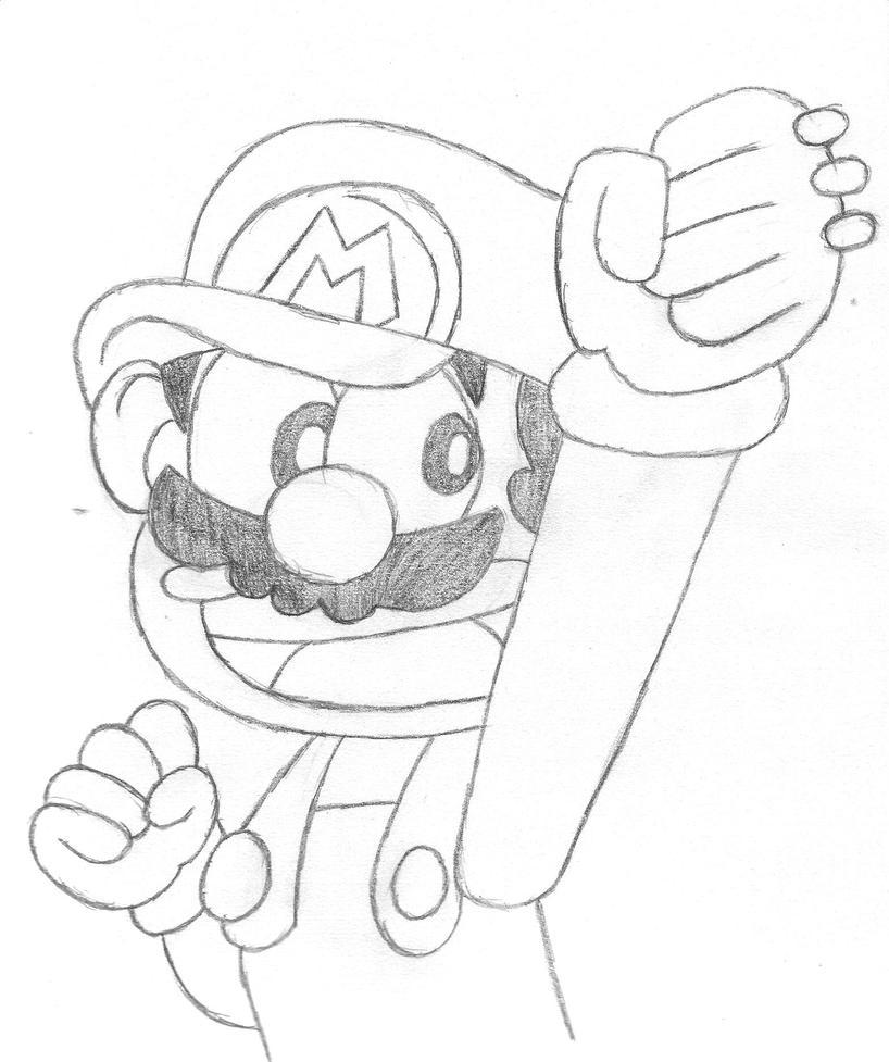 Super Mario-kun Drawing By Lulikat15 On DeviantArt