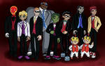 Teen Titans Prom - The Guys