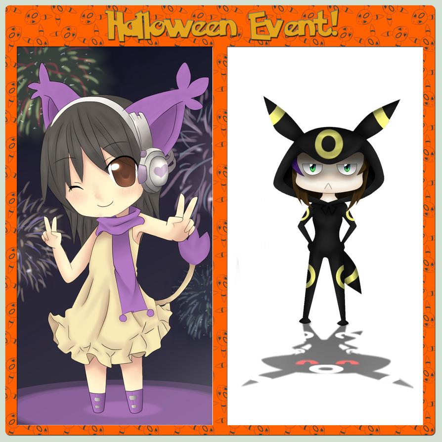 PokeBros- Halloween Event by AshiKitsuneChan