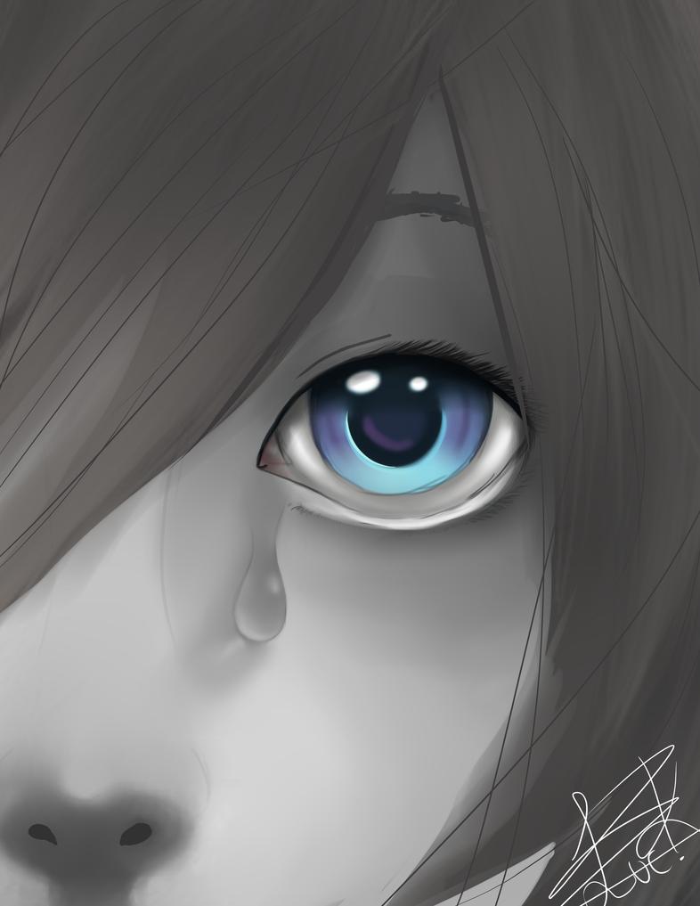 Blue. by AshiKitsuneChan