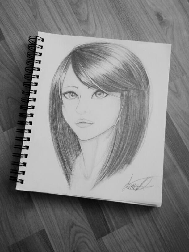 girl. by AshiKitsuneChan