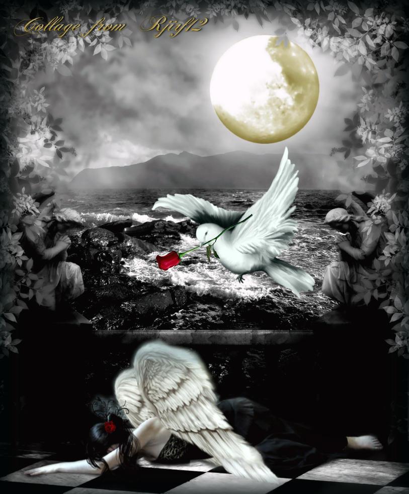 Sad angel by rjirf12 on deviantart - Sad angel wallpaper ...