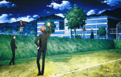 Little Busters! BD Vol.1 Case Cover