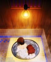Sharing a bath by SquallEC