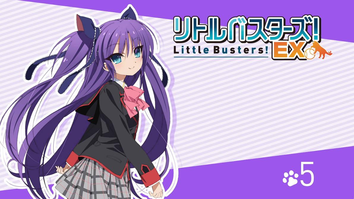 Little Busters! EX BD Vol.5 Title Menu by SquallEC