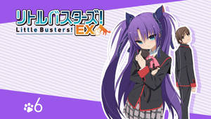 Little Busters! EX BD Vol.6 Title Menu by SquallEC