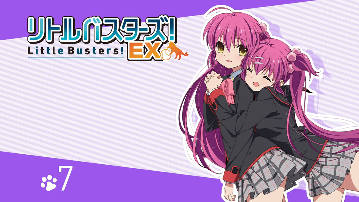 Little Busters! EX BD Vol.7 Title Menu by SquallEC