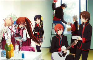 Little Busters! ~Refrain~ BD Vol.1 Case Cover by SquallEC