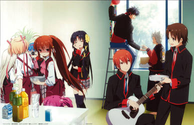 Little Busters! ~Refrain~ BD Vol.1 Case Cover
