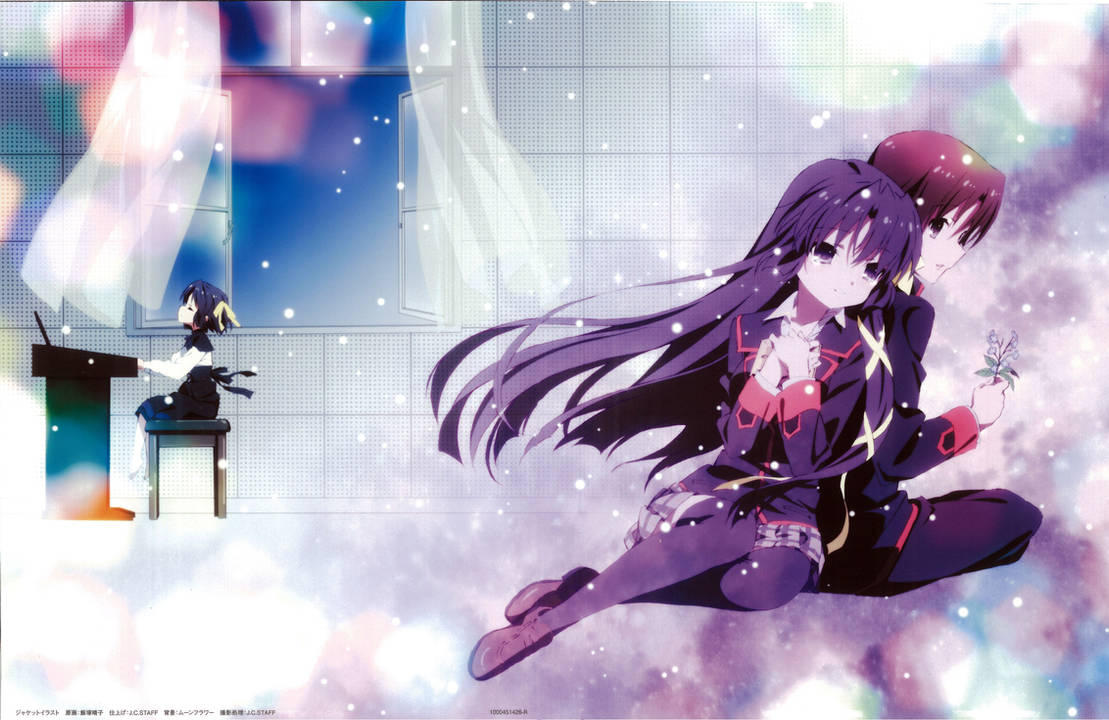 Little Busters! ~Refrain~ BD Vol.2 Case Cover by SquallEC