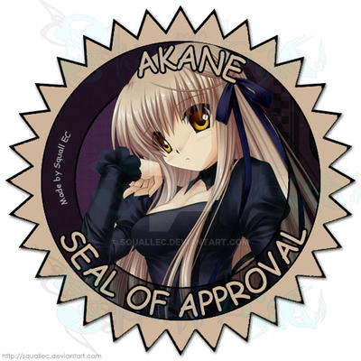 Akane Seal of Approval