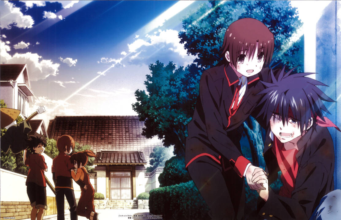 Little Busters! ~Refrain~ BD Vol.4 Case Cover by SquallEC