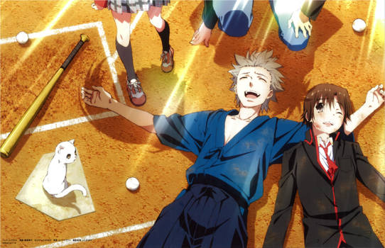 Little Busters! ~Refrain~ BD Vol.5 Case Cover