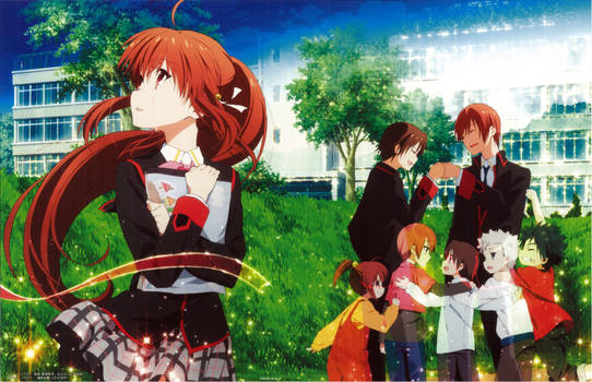 Little Busters! ~Refrain~ BD Vol.6 Case Cover