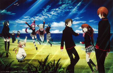 Little Busters! ~Refrain~ BD Vol.7 Case Cover