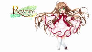 Rewrite BD Vol.1 Title Menu