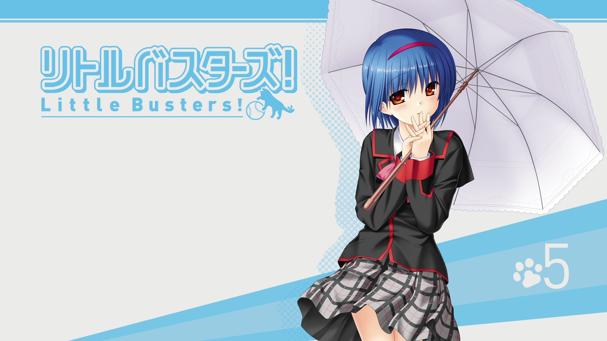 Little Busters! BD Vol.5 Title Menu by SquallEC