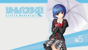 Little Busters! BD Vol.5 Title Menu by SquallEC