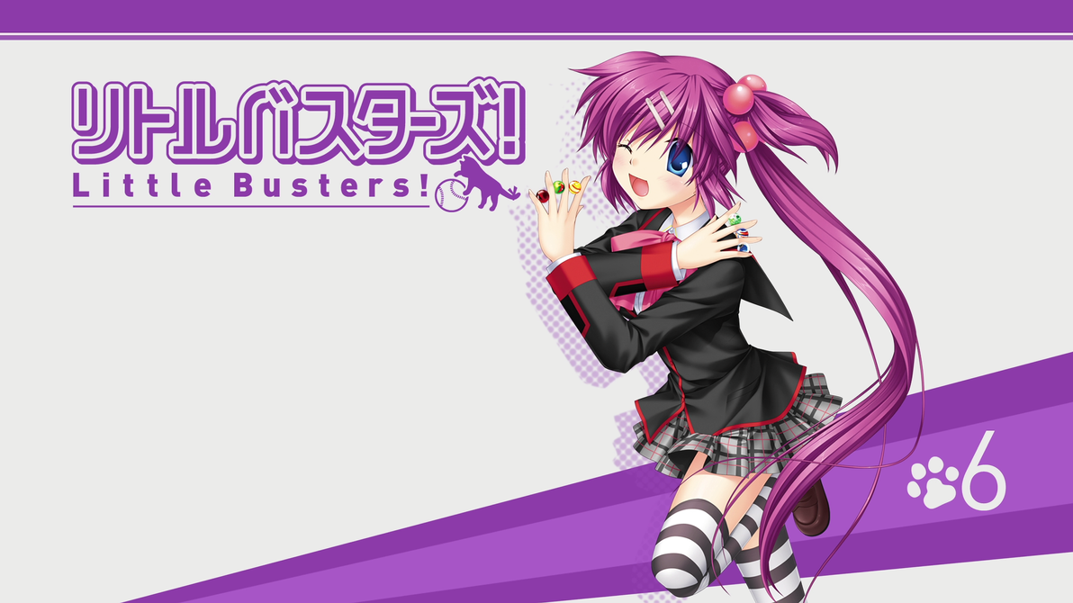 Little Busters! BD Vol.6 Title Menu by SquallEC