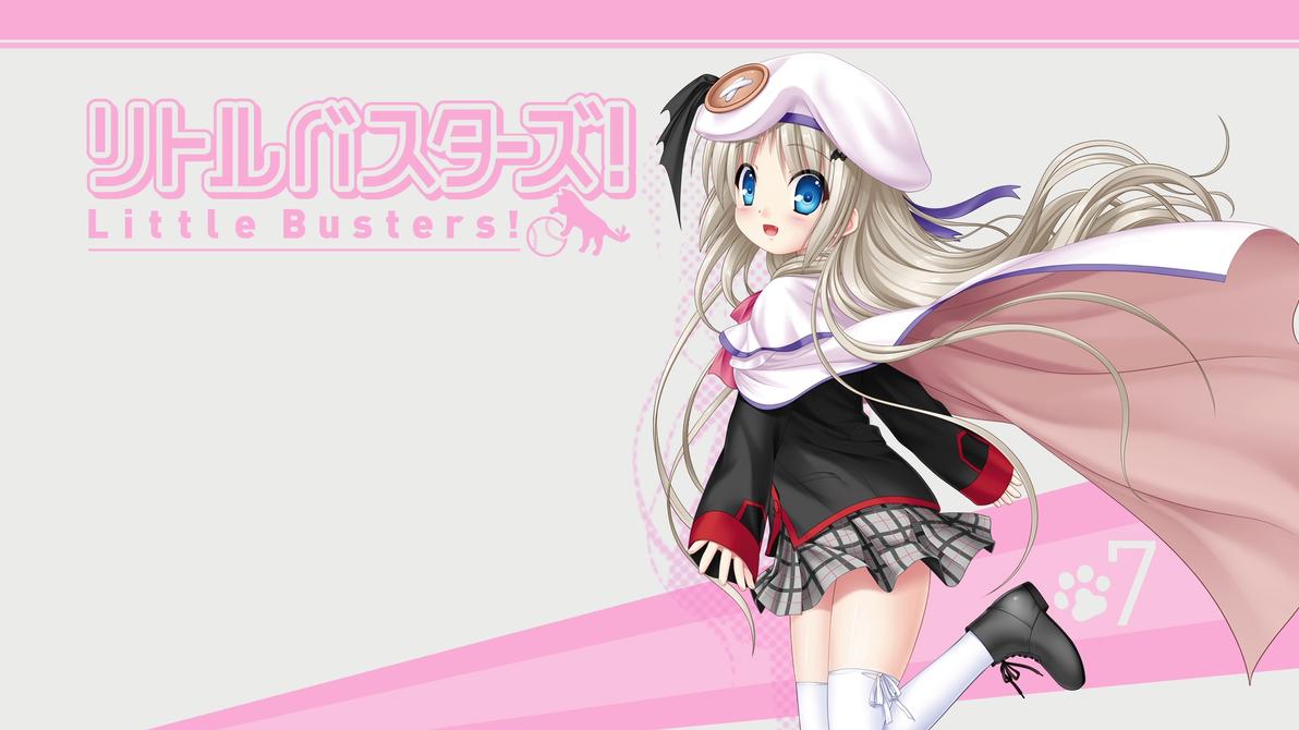 Little Busters! BD Vol.7 Title Menu by SquallEC