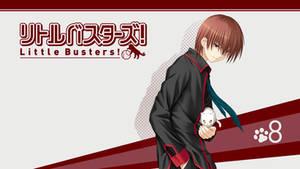 Little Busters! BD Vol.8 Title Menu by SquallEC