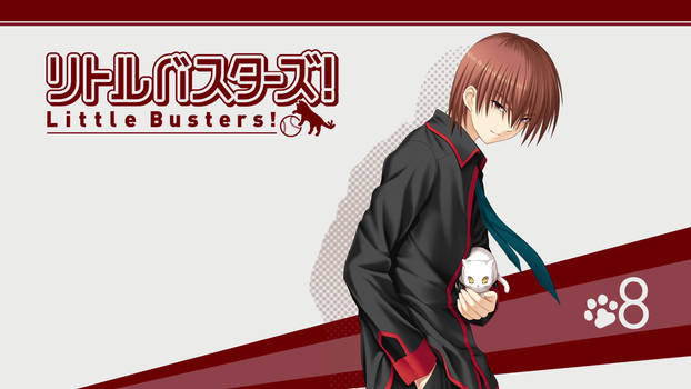 Little Busters! BD Vol.8 Title Menu