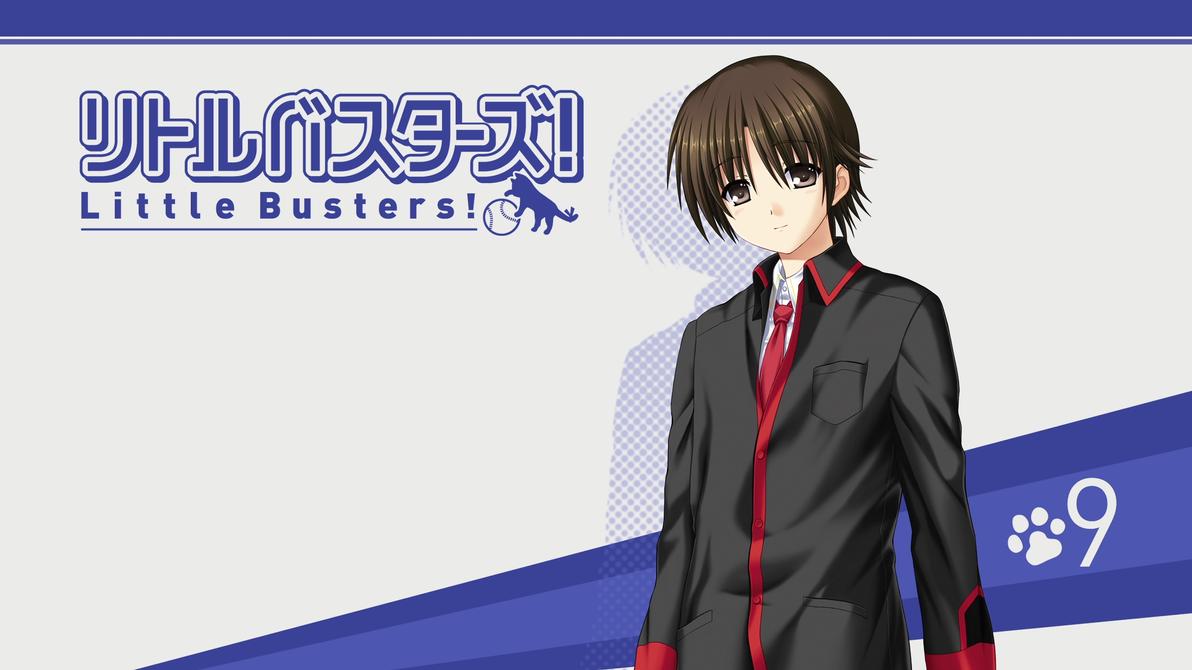 Little Busters! BD Vol.9 Title Menu by SquallEC