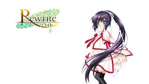 Rewrite BD Vol.5 Title Menu by SquallEC
